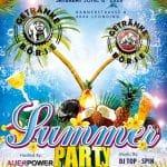 Aufbauarbeiten zur Summerparty 2020